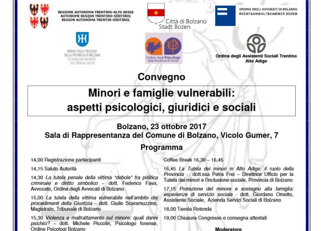 Convegno Società Italiana Psicologia Clinica Forense